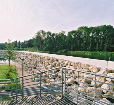 Aménagement du parc Arboretum, MONTFERMEIL